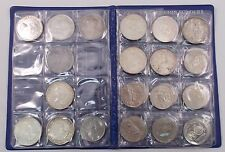 Canada Dollar Set of 33 Coins Silver & Nickel 1935-1986 Book (#3769)