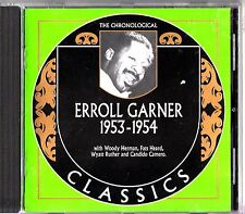 ERROLL GARNER- CHRONOLOGICAL CLASSICS 1953-1954 CD (#1423 M) RARE Fats Heard etc