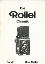 "Udo Afalter ""Die Rollei Chronik"" Band I 1881-1960 in tedesco     D409"