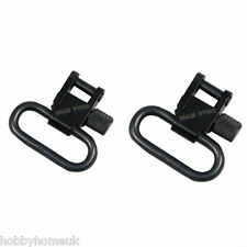 "JACK PYKE 1"" QUICK RELEASE RIFLE SLING SWIVEL 2 PACK HUNTING SHOOTING"