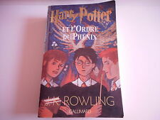 HARRY POTTER ET L'ORDRE DU PHENIX - J.K. ROWLING - GALLIMARD