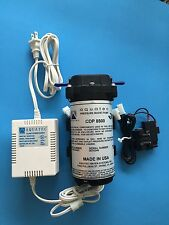 "AQUATEC 8841 RO BOOSTER PUMP 8841-2J03-B421 + TRANSFORMER + 3/8"" PORT SWITCH"