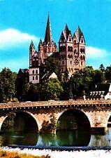 Limburg an der Lahn , Dom mit Lahnbrücke  , Ansichtskarte