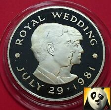 1981 JERSEY £2 Two Pound Charles and Diana Royal Wedding Silver Proof Coin