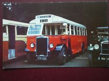 POSTCARD LANCASHIRE UNITED BUS NO 114 - 1938 LEYLAND TIGER TS8