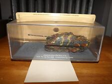 "COLLECTOR DIE CAST TANK, JAGDPANTHER, LUXEMBOURG 1944, 3.5"" LONG TANK BODY, NEW"
