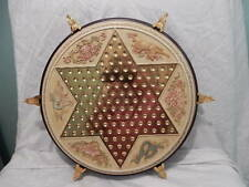 FRANKLIN MINT Collectors Edition Chinese Checkers Playing Board Game