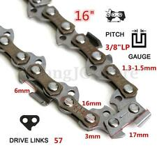 16'' 57 Links 3/8 0.05'' Chainsaw Saw Mill Chain For McCULLOCH HUSQVARNA STIHL