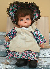 Rare Vintage Adorable Sekiguchi Gege Monchichi Doll 32 cm/12.6 inches