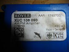 MG ZT & T / ROVER 75 1999-2006 AM / FM AERIAL AMPLIFIER XUC106090