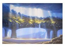 Hans Werner Sahm Hochland Poster Kunstdruck Bild 70x100cm