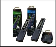Essentials pH And EC Meter Pen Bundle Nutrient Management Hydroponics