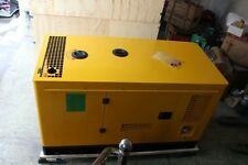 New 12Kw German Technology 1 Phase Diesel Powered Generator & Enclosure and ATS