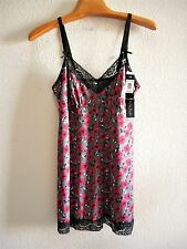 Womens Plus Size XL or 1X Floral Chemise Lingerie Clothes NWT $36 Delta Burke