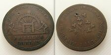 COLLECTABLE 1813 ONE PENNY / JAMES HILLES DUBLIN /PAYABLE AT THE BANK OF IRELAND