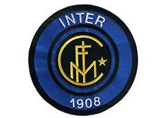 Inter Milan FC jumbo size iron-on/sew-on cloth patch  (os)
