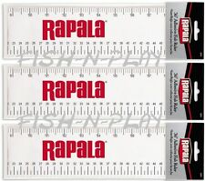 "PACK OF 3 RAPALA 36"" - 91cm ADHESIVE FISHING RULER TAPE RAFR"