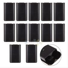 10x Black Xbox 360 Wireless Controller Battery Back Cover Holder Pack Part Shell