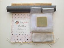 Heidifeathers Wet Felting Starter Kit Without Wool - Bamboo Mat, Netting, Soap..