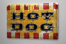 M.A. Allen Retro tin sign metal plate U.S. Deco hotdog restaurant nostalgic