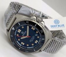 New Deep Blue Deep Star 1000 Black Ceramic Bezel Swiss Automatic Mens Watch