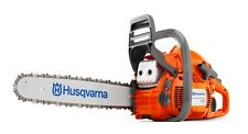"HUSQVARNA 450 20"" 50.2cc Gas Powered 2 Cycle Chain Saw Home Tree Chainsaw"
