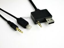 NEW Music Interface for IPOD IPHONE 5 6 USB AUX Cable for Hyundai Kia US Seller
