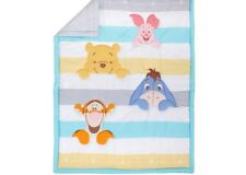 DISNEY WINNIE THE POOH TIGGER 4-PIECE CRIB BEDDING SET COMFORTER SHEET BABY NEW