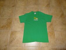 MENS / WOMENS SIZE MEDIUM GREEN TEE SHIRT **LETTUCE PRAY** GREAT MESSAGE!!!
