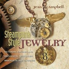 Steampunk Style Jewelry: Victorian, Fantasy, and Mechanical Necklaces,-ExLibrary