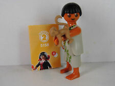G13-Playmobil Figur- Figuren Serie 2 Girls , Neandertalerin mit Äffchen