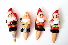 Garden Gnomes Set Decorative Plant Pot Waterers Flowers Watering Garden Ornament