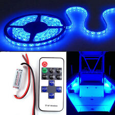 Wireless Blue LED Strip Kit For Boat Marine Deck Interior Lighting 16 ft
