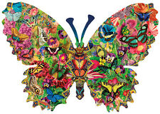 Butterfly Menagerie 1000 Piece Shaped Jigsaw Puzzle by SunsOut