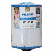Filbur FC-0359 Antimicrobial Replacement Filter Cartridge for Select Pool and Sp