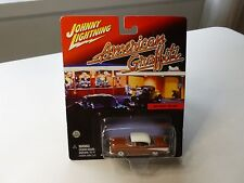 NEW JL AMERICAN GRAFFITI 1957CHEVY BELAIR DIECAST VEHICLE 1/64 SCALE NEW ON CARD