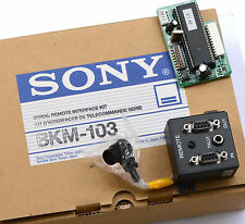 Serial remote Interface Kit Sony bkm-103 1-653-773-12 Set Telecomando