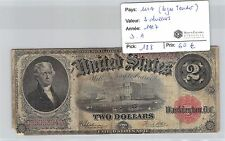 USA - 2 DOLLARS 1917 DA  LEGAL TENDER