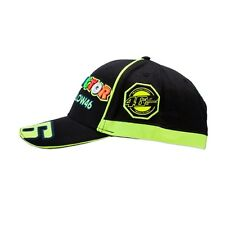 2017 Vr46 Official The Doctor Basball Cap Yellow/Black Unisex 500/VRMCA 263004