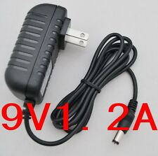 AC Converter Adapter DC 9V 1.2A Power Supply Charger US plug 5.5 x 2.1mm 1200mA