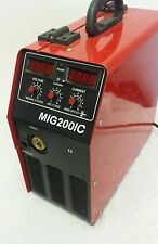 SIMADRE 200V MIG200 200AMP IGBT MIG/MMA/ARC WELDER - PARTS ONLY NOT WORKING