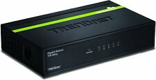 TRENDnet TEG-S50G 5-Port Gigabit GREENnet Unmanaged Metal Housing Switch