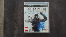 jeu sony PS3 : RED FACTION ARMAGEDDON - complet