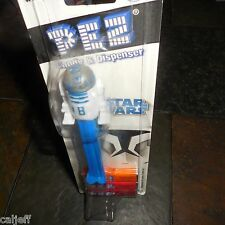 RARE HTF STAR WARS PEZ PACKAGE R2D2 CANDY DISPENSER