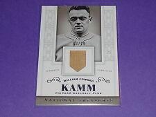 2014 National Treasures WILLIE EDWARD KAMM Game Used Bat/99 Chicago WHITE SOX