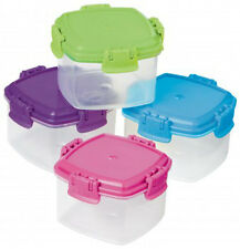 Sistema Knick Knack Mini Storage Containers Box Pack of 4 Kitchen Home Food Safe