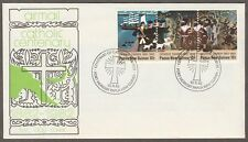 Papua New Guinea  FDC  Catholic Church 100 years 15.9.1982
