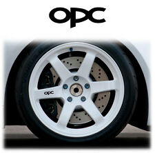 OPEL / VAUXHALL OPC ALLOY WHEEL WHEELS STICKERS DECALS GRAPHICS X6