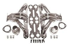 For SBC Chevy Hugger Headers Shorty Chrome 265 283 305 350 383 400 GM