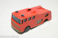 MATCHBOX LESNEY 35 MERRYWEATHER FIRE ENGINE RED GOOD CONDITION